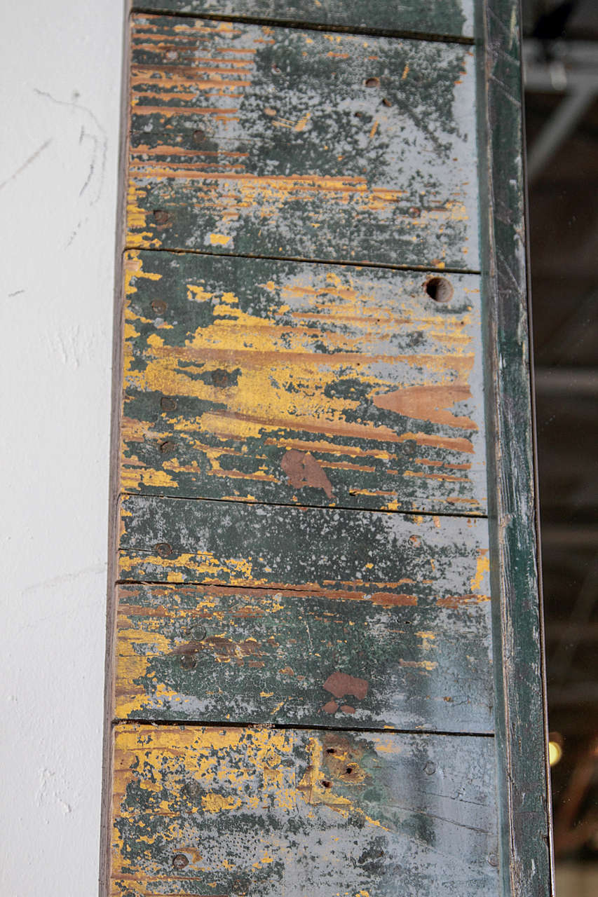 Antique Rustic French Large Mirror Frame For Sale 2