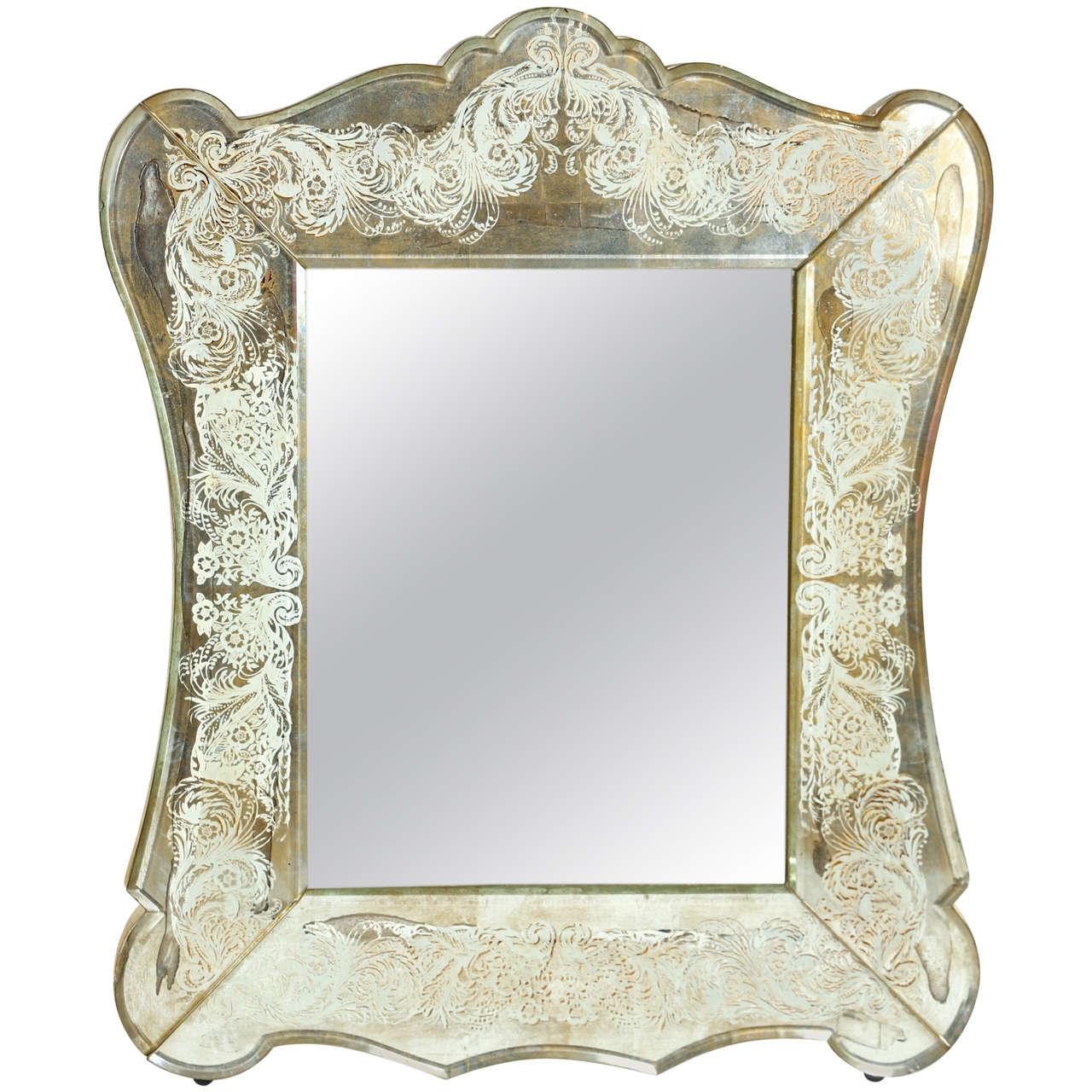 Verre 201 Glomis 233 Vanity Mirror By New Era Glass At 1stdibs