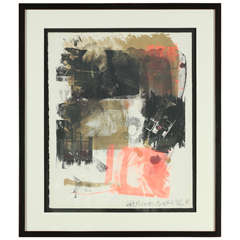 """""""Storyline III, from Reels (B+C)"""" Lithograph by Robert Rauschenberg, 1968"""