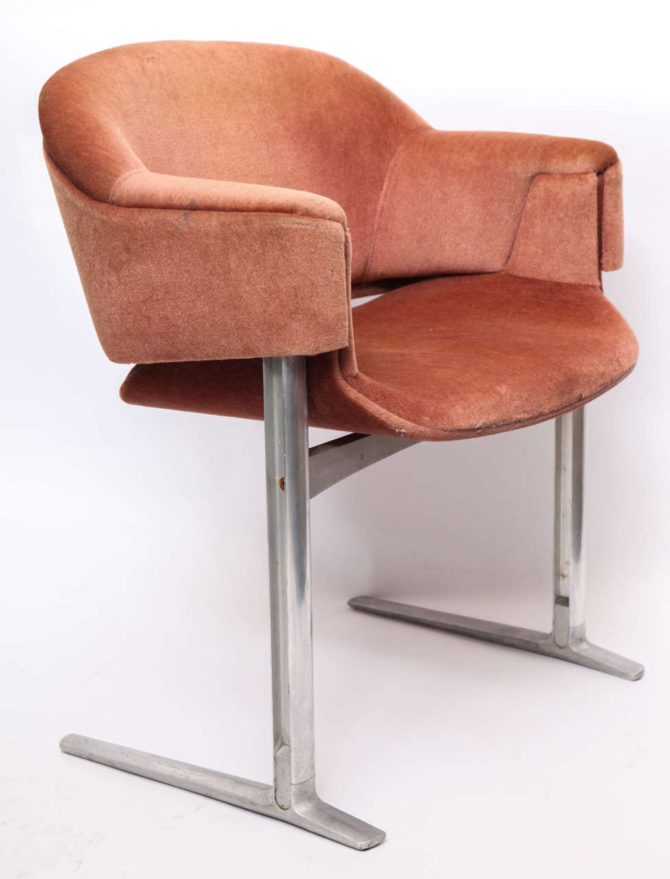 pair of  modernist chairs from qe race line by robert  - pair of  modernist chairs from qe race line by robert heritage
