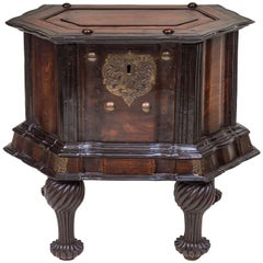 19th Century Exotic  Dutch Colonial Hexagonal Cellarette