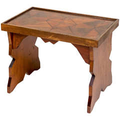 Ameican Folk Art Coffee Table