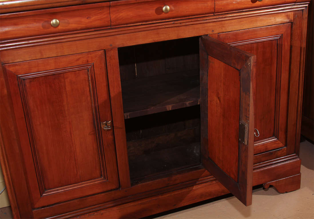 french louis philippe style buffet at 1stdibs. Black Bedroom Furniture Sets. Home Design Ideas