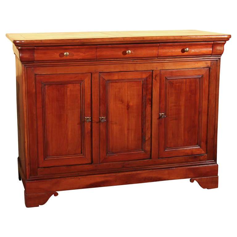 french louis philippe style buffet. Black Bedroom Furniture Sets. Home Design Ideas