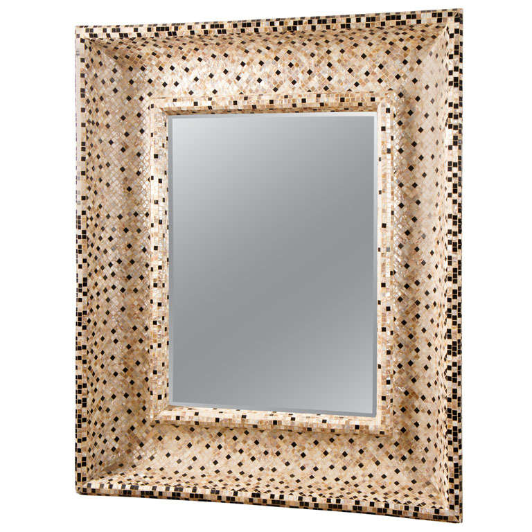 A Great Tile Mosaic Mirror