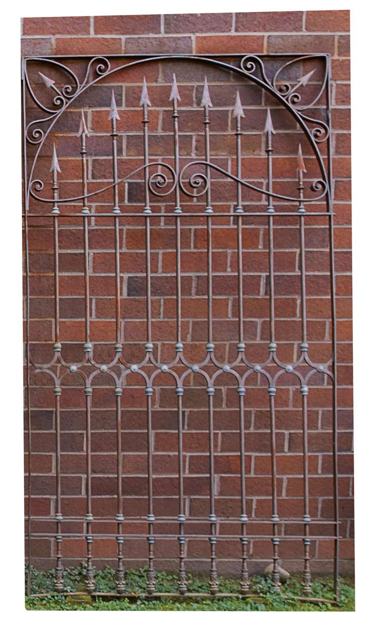 19th Century Chilean Iron Gates, Set of Three For Sale 1