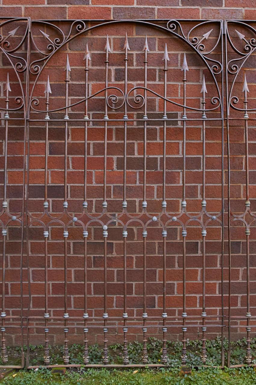 19th Century Chilean Iron Gates, Set of Three For Sale 2