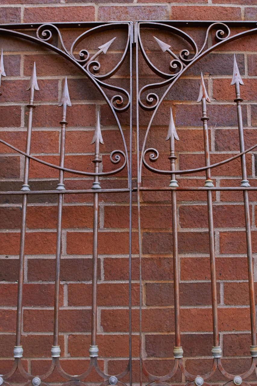 19th Century Chilean Iron Gates, Set of Three For Sale 3