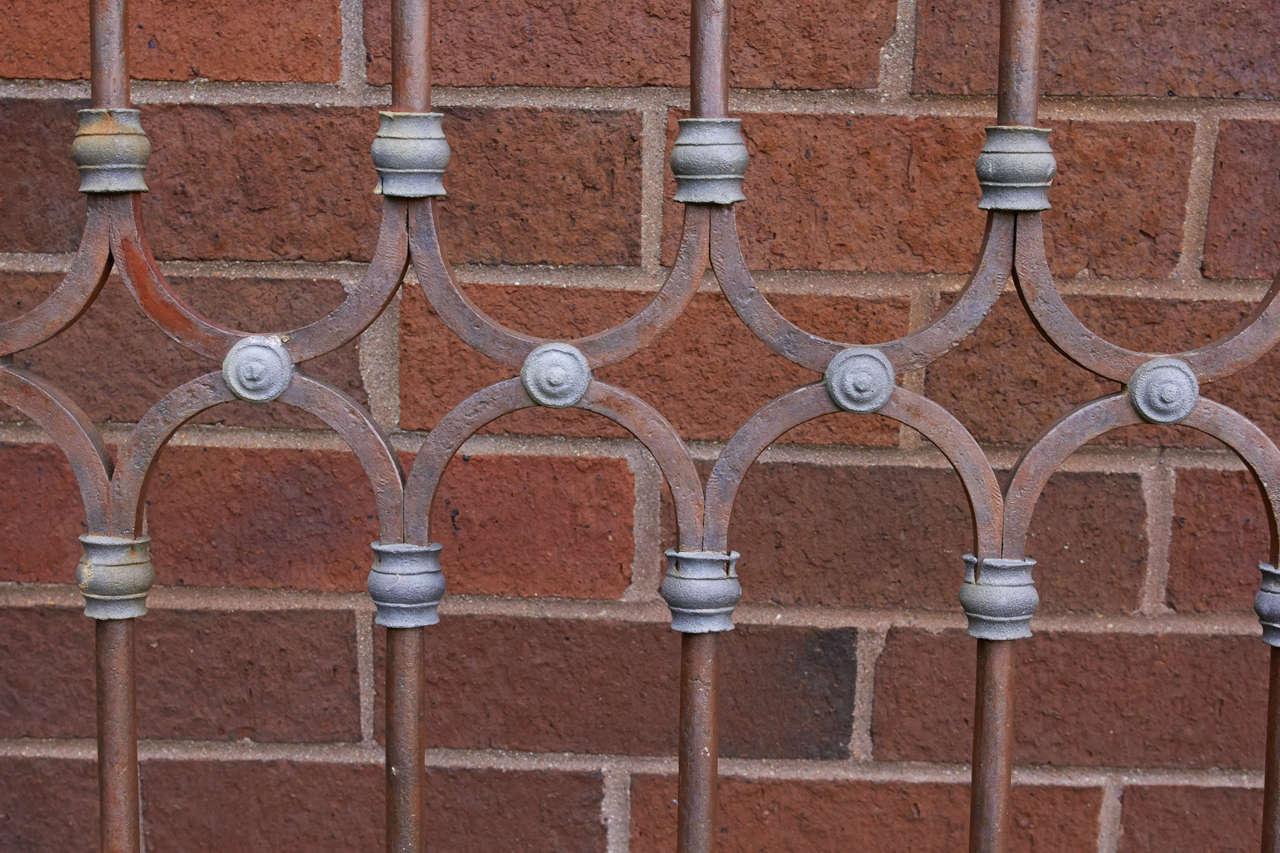 19th Century Chilean Iron Gates, Set of Three For Sale 4