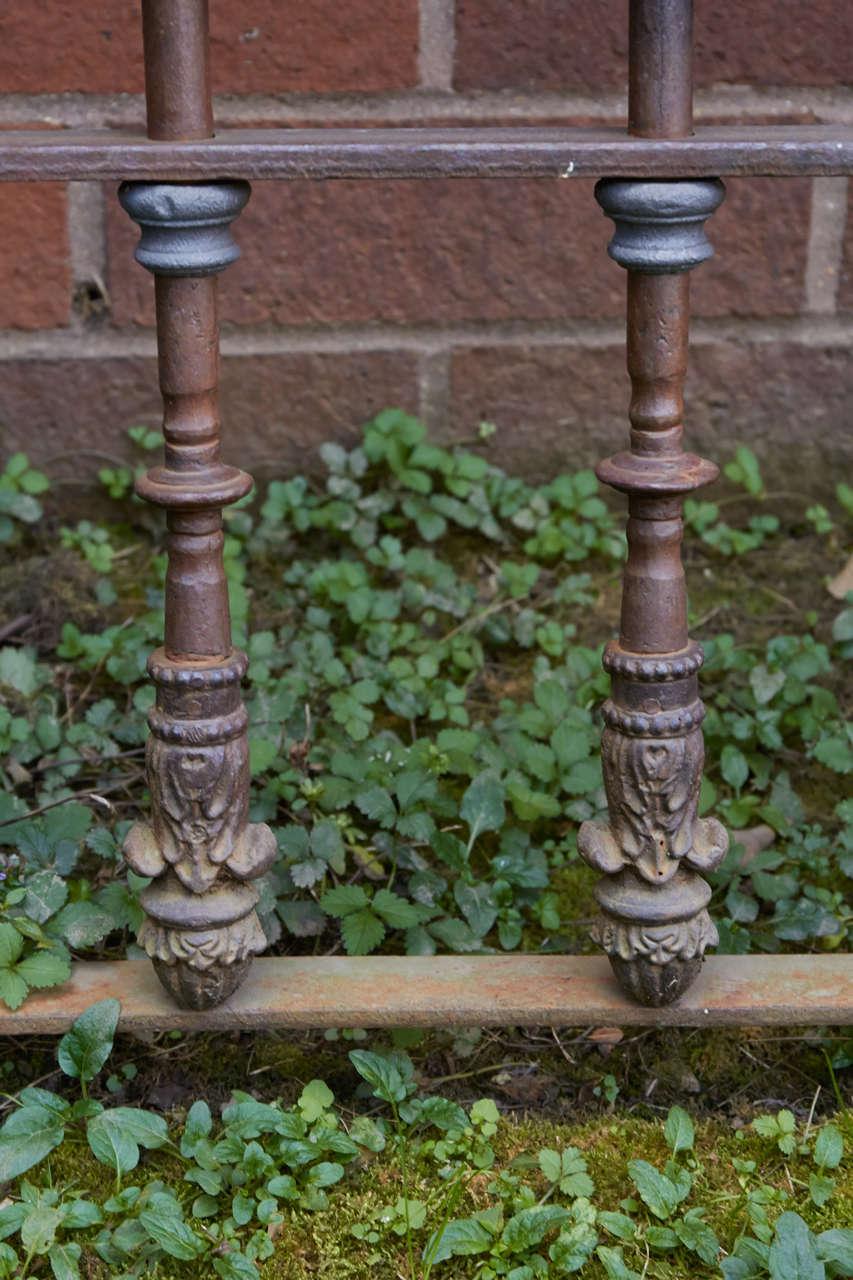 19th Century Chilean Iron Gates, Set of Three For Sale 5