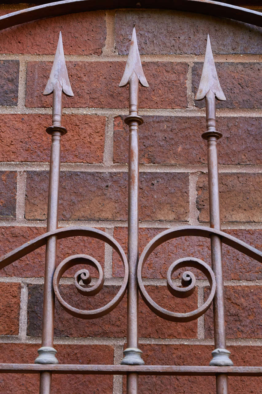 19th Century Chilean Iron Gates, Set of Three For Sale 6
