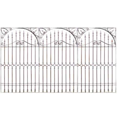 19th Century Chilean Iron Gates, Set of Three