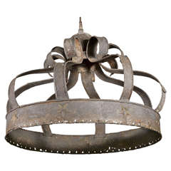 Zinc Simple French Crown