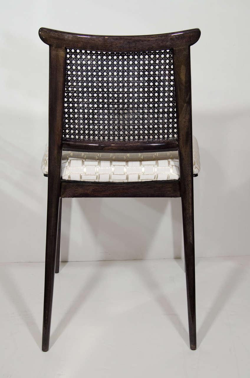 Elegant modern desk or vanity chair designed by edward wormley for dunbar at 1stdibs - Elegant vanity stools ...