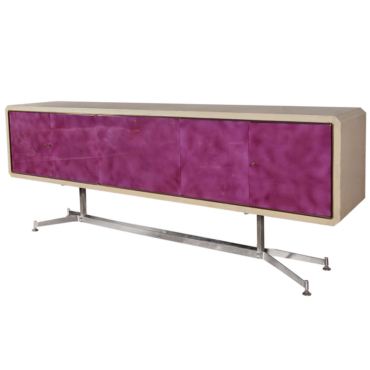 Rare 1960s Sideboard Designed by Enzo Missoni