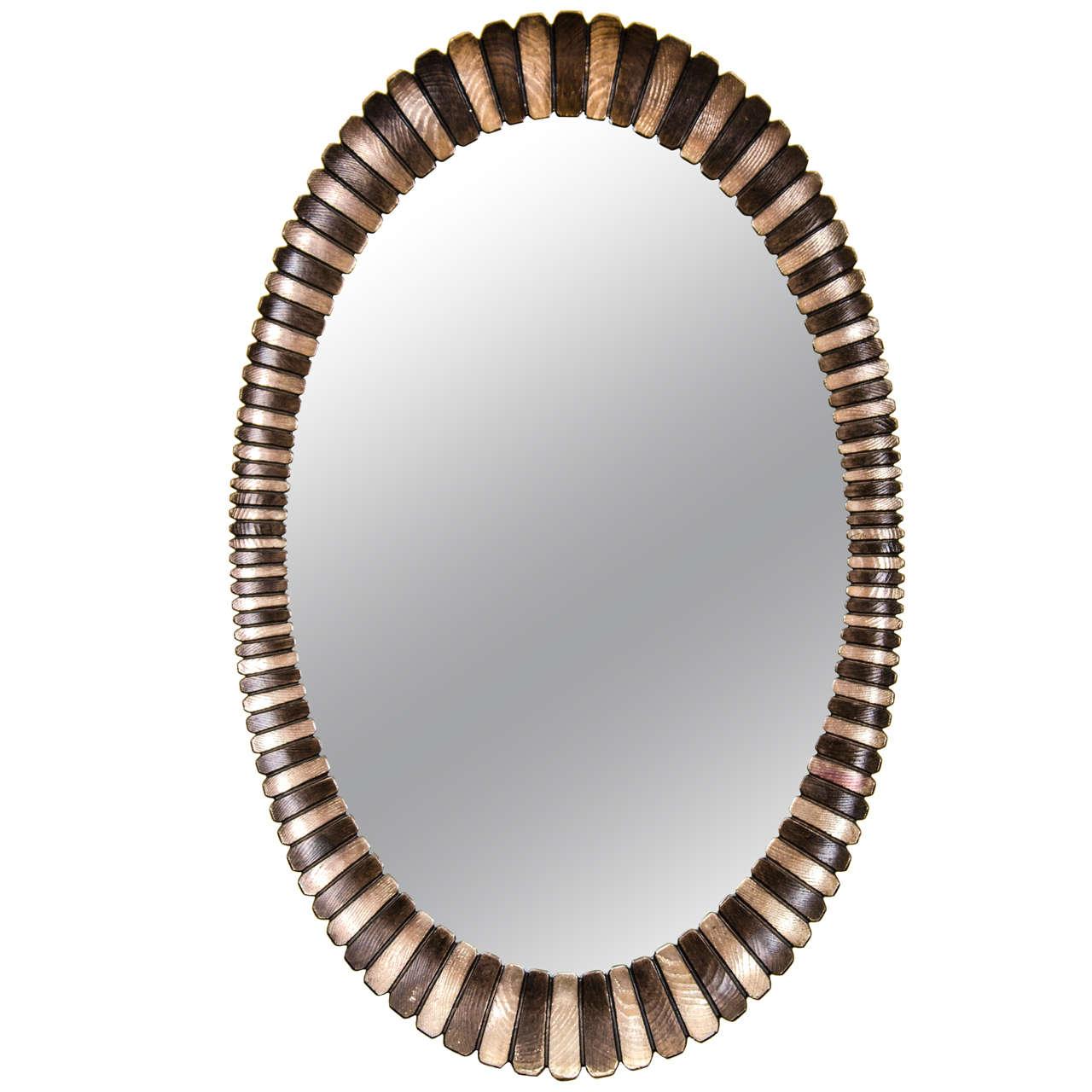 Beautiful Oval Wall Mirror