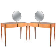 Pair of Gio Ponti Toilettes