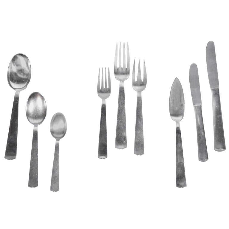 Gio Ponti Flatware Set For 6 (54 Pieces)