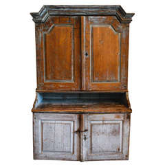 Primitive Swedish Hutch, Late 18th C.