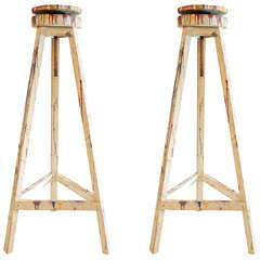 Pair of Sculptor/Painter's Stands