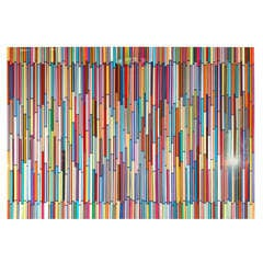 Art Work by Mauro Oliveira Entitled Rainbow Storm