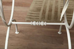 Iron Vanity Bench image 8