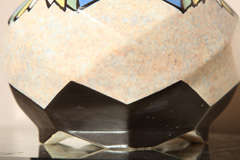 Belgian Art Deco Ceramic Vase by A. Dubois image 4