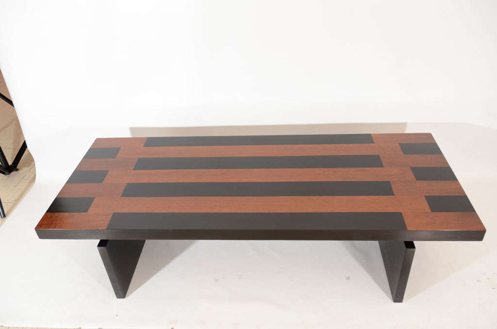 Lane Lacquered Coffee Table, 1960s For Sale at 1stdibs