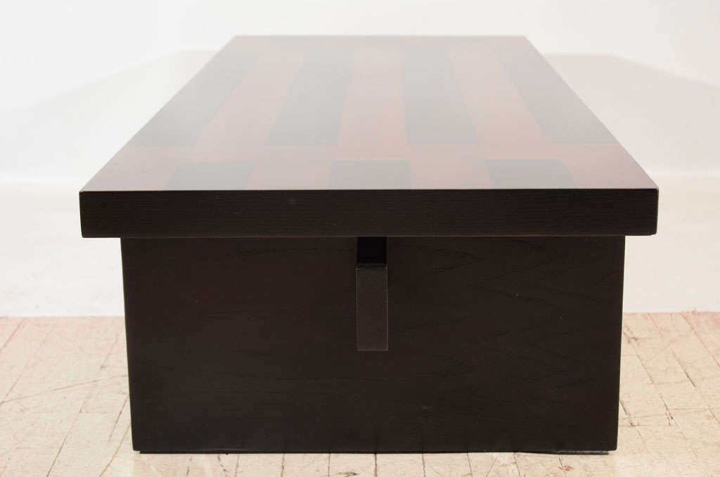 Lane Lacquered Coffee Table 1960s For Sale At 1stdibs