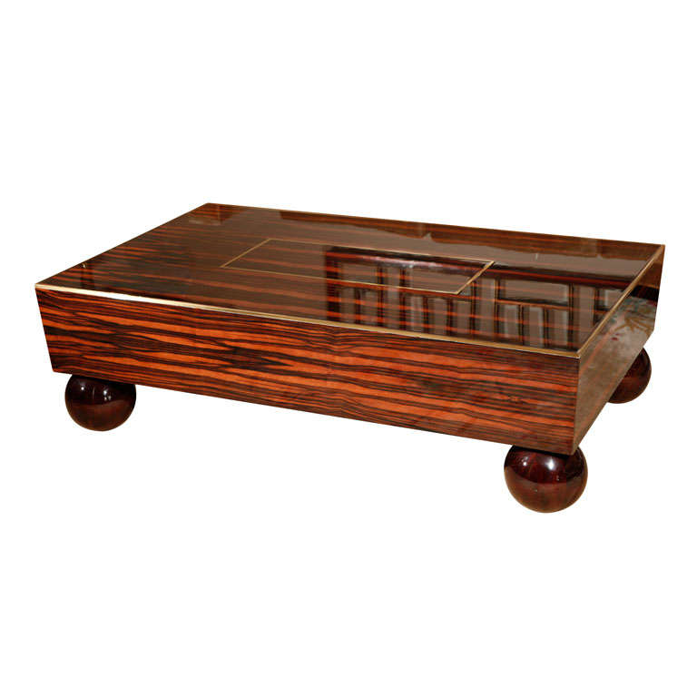Art Deco Style Coffee Table For Sale At 1stdibs