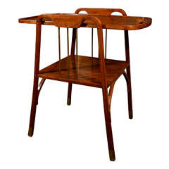 Secessionist Side Table by Thonet