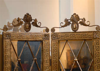 Hollywood Regency Mirrored Screen image 3