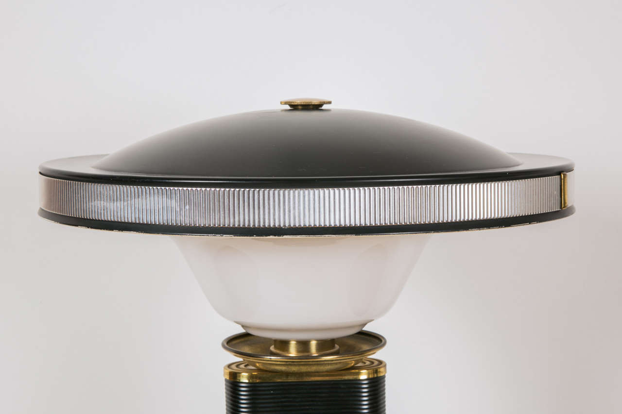 1945-1950s Table Lamp 'Sirène-Eileen Gray' by Jumo In Good Condition In Paris, FR