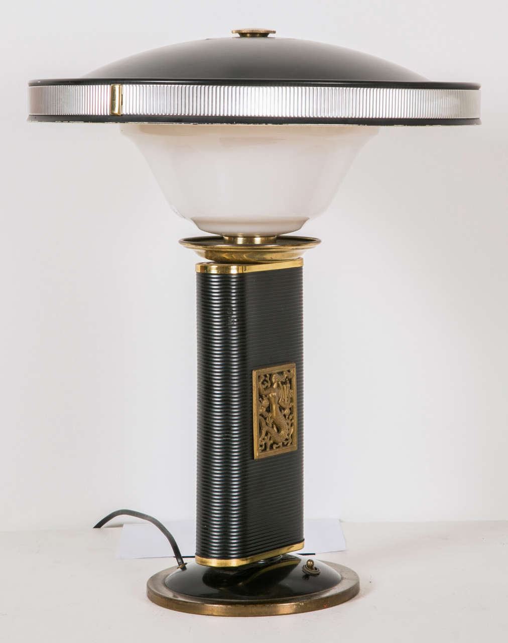 1945-1950s Table Lamp 'Sirène-Eileen Gray' by Jumo 1