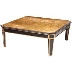 Maison Jansen Verre Églomisé Low Table