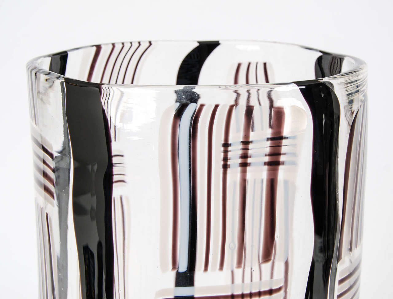 Modern Madras XV, Large-Scale Blown Glass Vessel For Sale