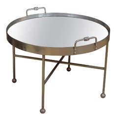 Modern Round Symi Tray Table