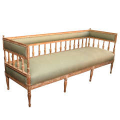 Early 19th Century Gustavian Settee