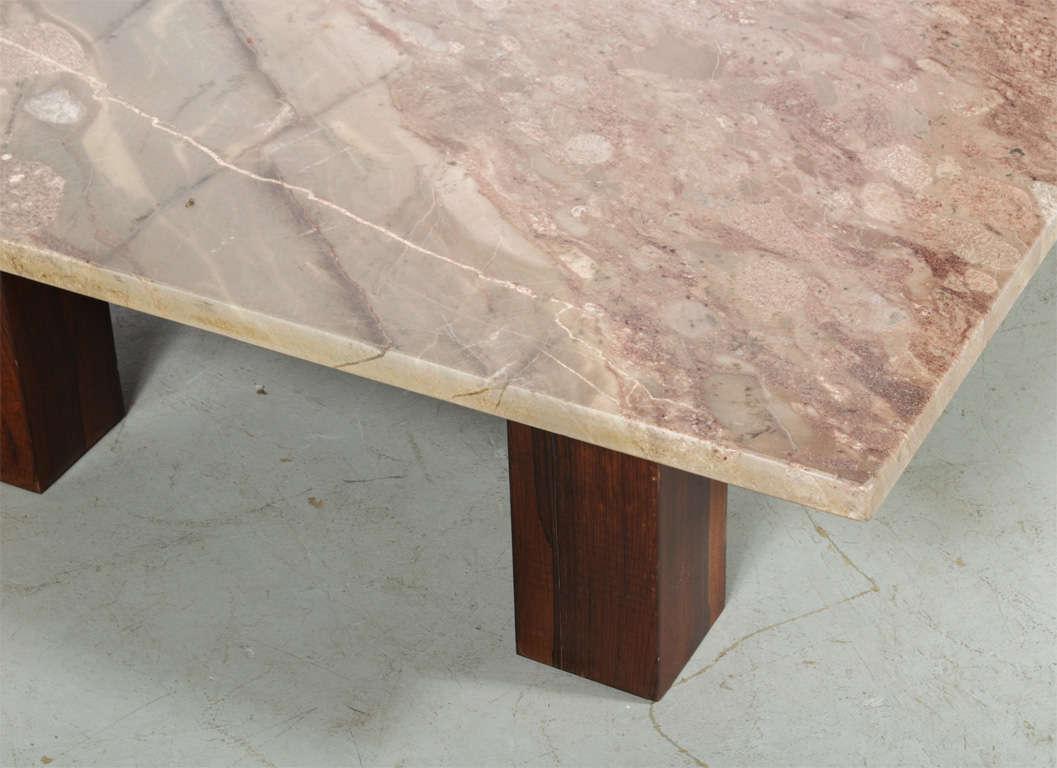 Mid-Century Modern Joaquim Tenreiro Coffee Table For Sale