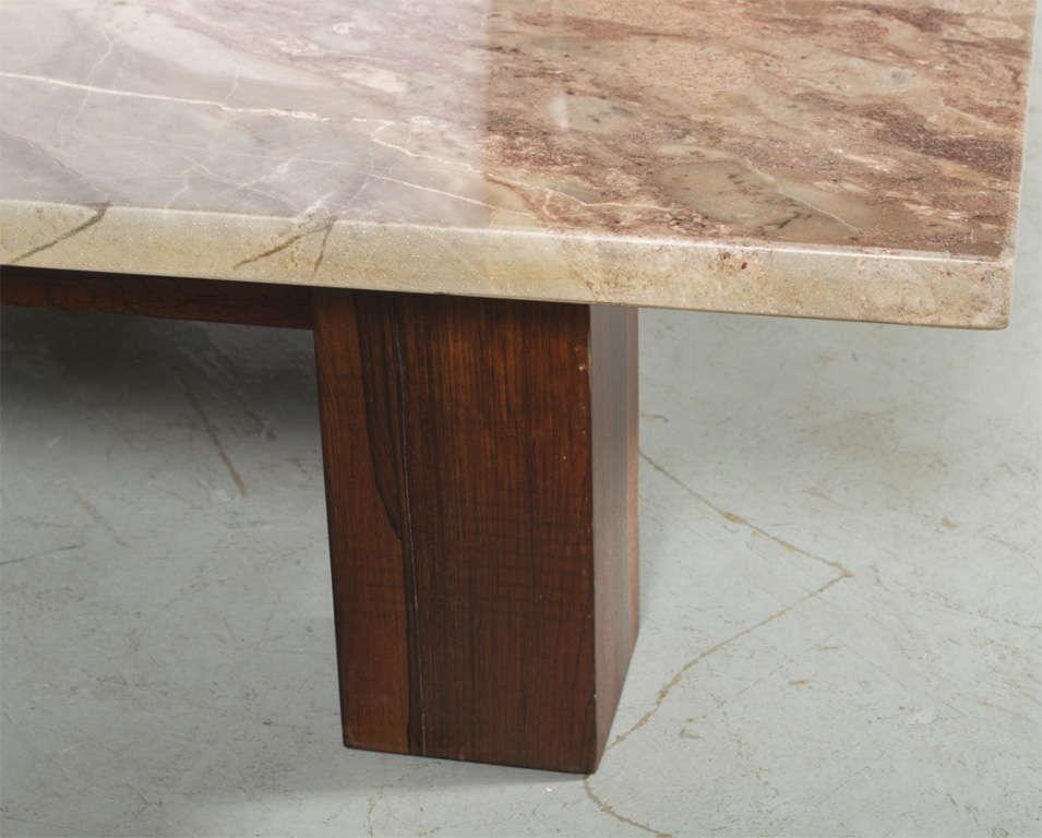 Mid-20th Century Joaquim Tenreiro Coffee Table For Sale