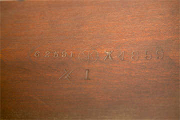 Banded Mahogany Dining Table by Schmieg & Kotzian image 4
