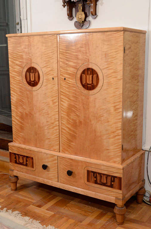 Art Deco Cabinet Armoire For Sale At 1stdibs