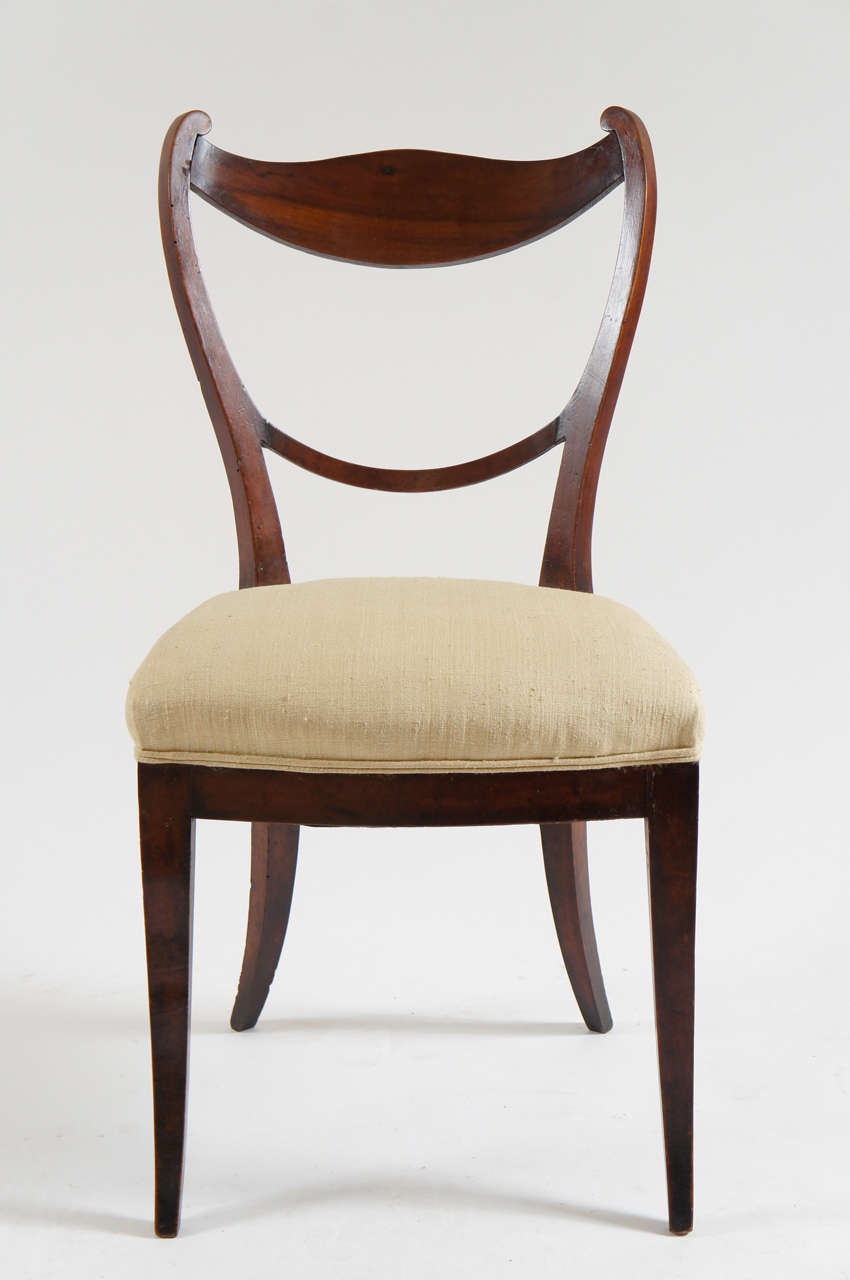 Set Of 4 Biedermeier Chairs Vienna C 1830 At 1stdibs