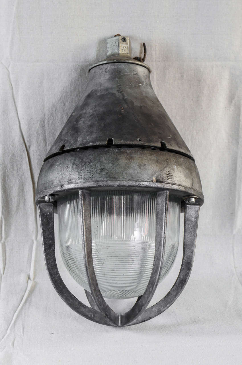 Pair Of 1940s Industrial Pendant Lights At 1stdibs