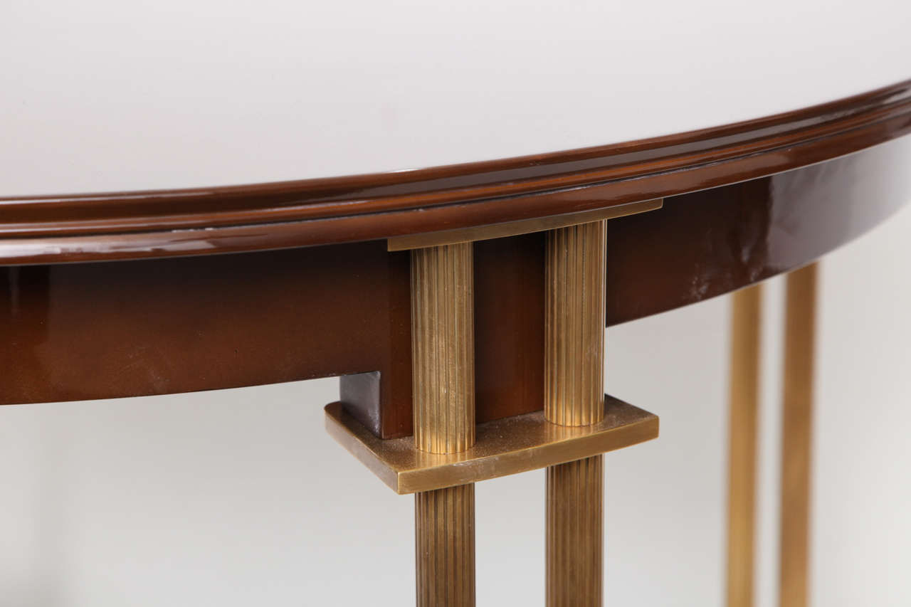 Fine Extension Dining Table By Maison Leleu At 1stdibs