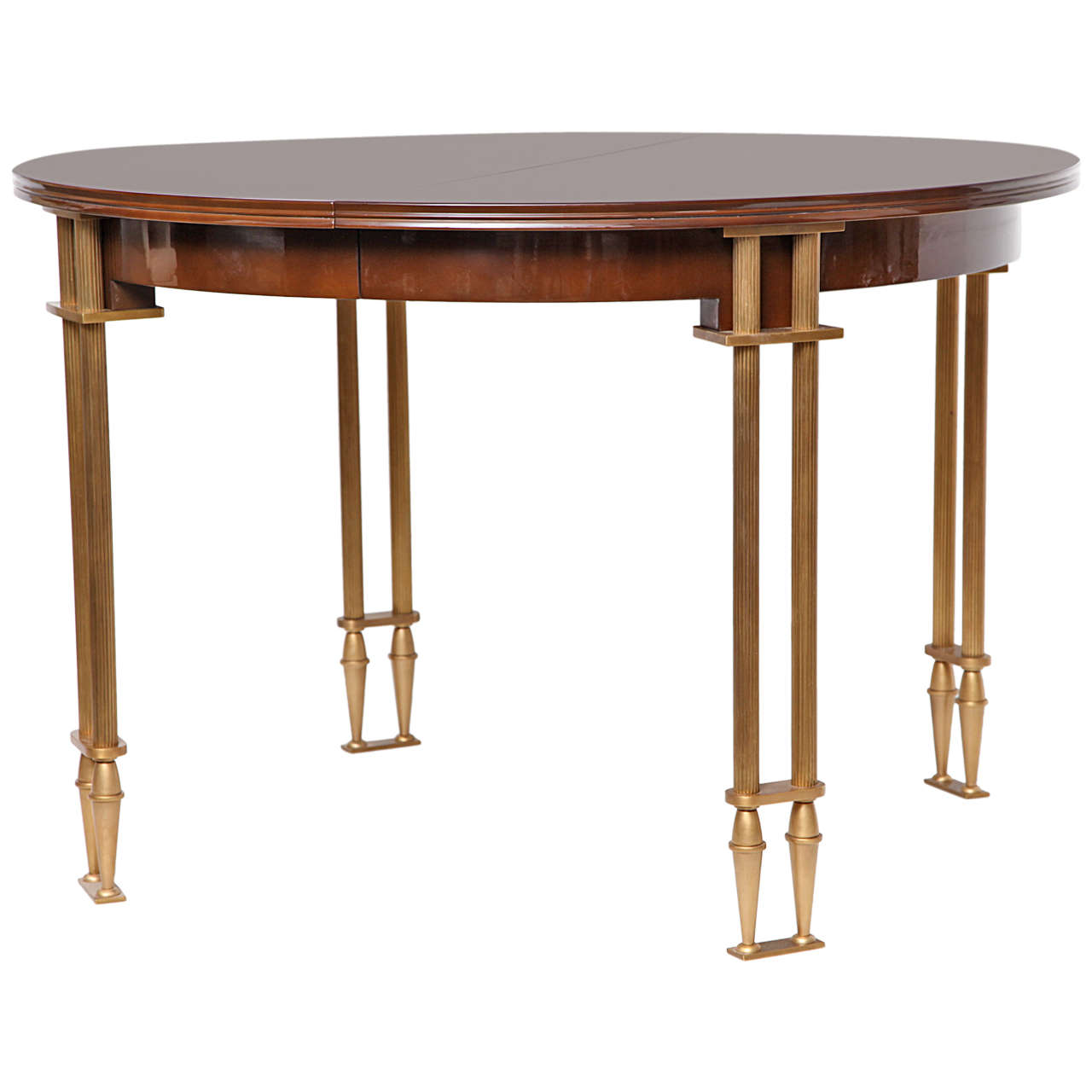 Fine Dining Room Tables: Fine Extension Dining Table By Maison Leleu At 1stdibs
