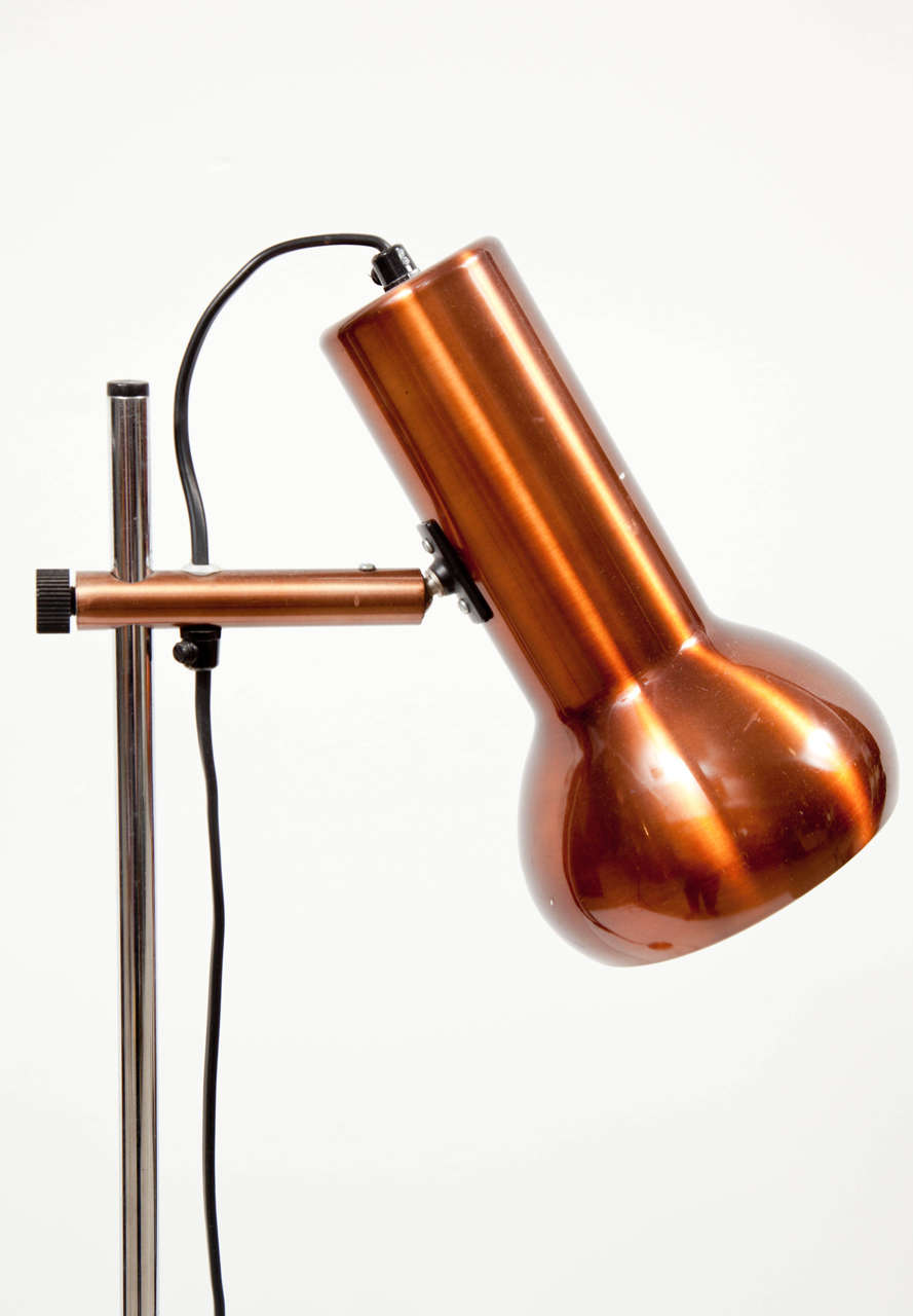 Danish Copper Floor Lamp 5