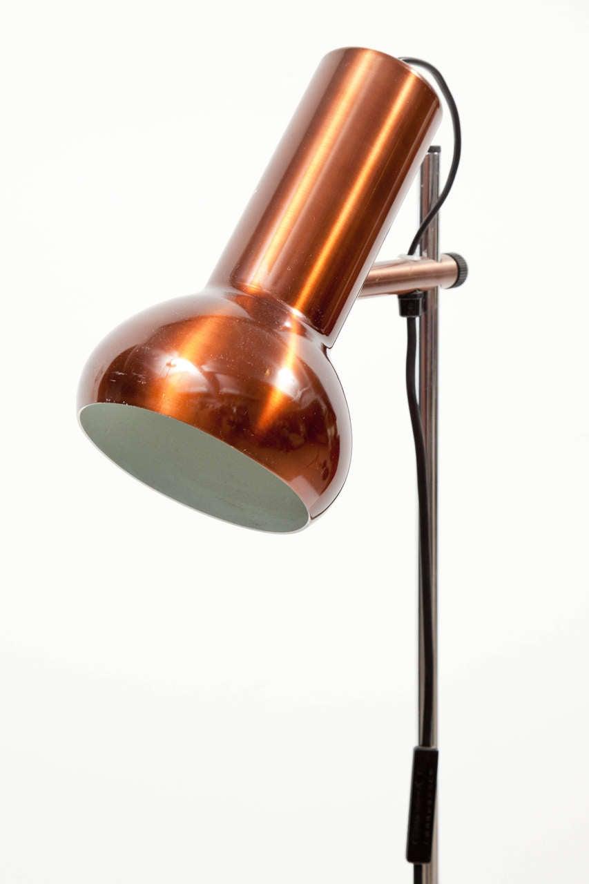 Danish Copper Floor Lamp 4