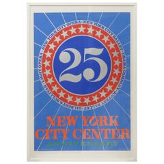 Robert Indiana 25 NYC Poster, USA, 1968
