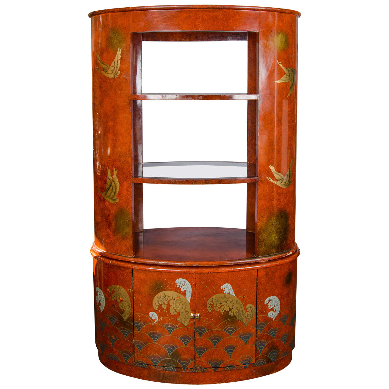 1920s French Display Cabinet or Bar